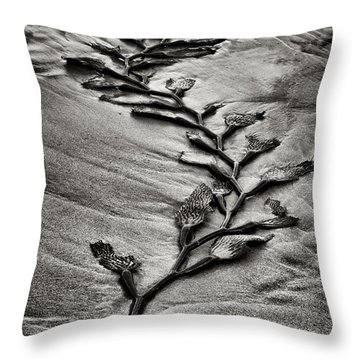 Kelp Snake Throw Pillow