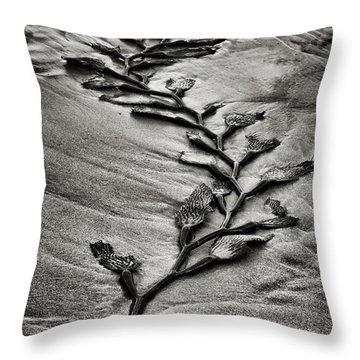 Kelp Snake Throw Pillow