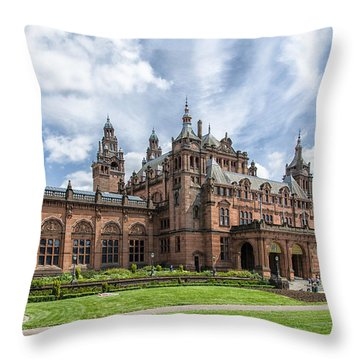 Kelvingrove Art Gallery And Museum Throw Pillow