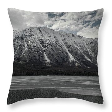 Kenai Lake Throw Pillow