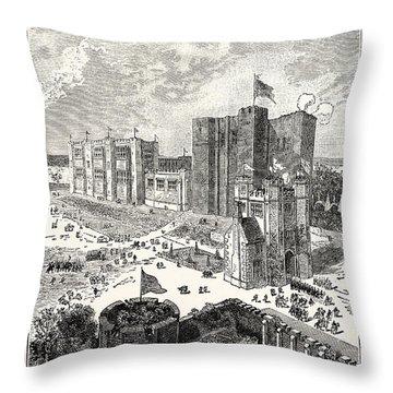 Kenilworth Castle Throw Pillows