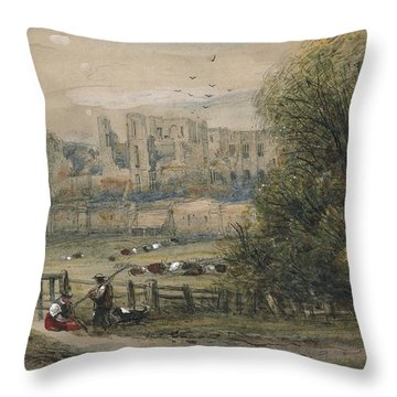 Kenilworth Throw Pillow by James Orrock