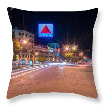 Kenmore Square Throw Pillow