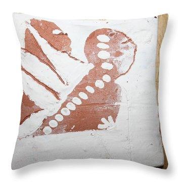 Kenna - Tile Throw Pillow by Gloria Ssali