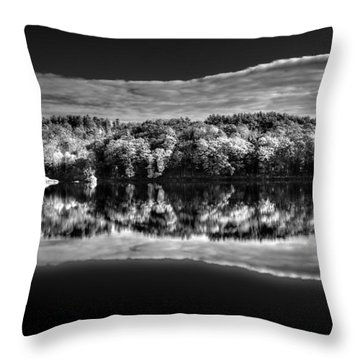 Kennebec Reflections Throw Pillow