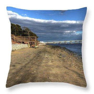 Kennedy Park Throw Pillow by John Loreaux