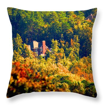 Kennesaw Hideout Throw Pillow