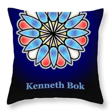 Kenneth Bok Throw Pillow