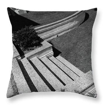 Kenneth Kassler's Garden Throw Pillow