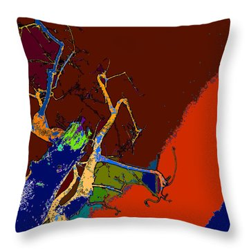 Kenneth's Nature - Dying To Live - Series - 09 Throw Pillow