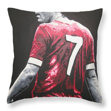 Kenny Dalglish - Liverpool Fc 2 Throw Pillow
