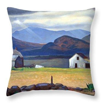 Kent's Adirondacks Throw Pillow by Cora Wandel