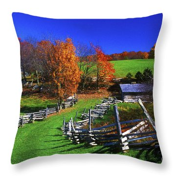 Kentucky Settlement Throw Pillow by Paul W Faust -  Impressions of Light