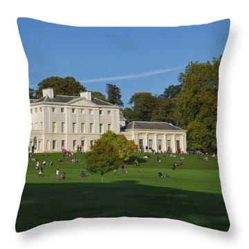 Kenwood House Hamstead Heathouse Throw Pillow
