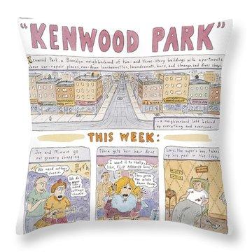Kenwood Park Throw Pillow