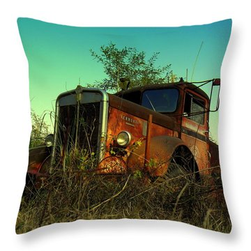 Kenworth 3 Throw Pillow