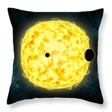 Kepler 444 Throw Pillow