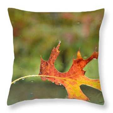 Throw Pillow featuring the photograph Kept From Falling by Carlee Ojeda