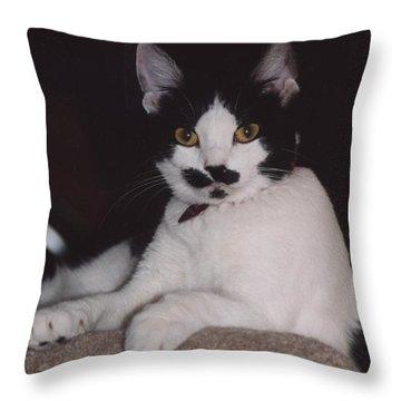 Kera Throw Pillow by Kathleen Struckle