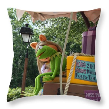 Throw Pillow featuring the photograph Kermey by David Nicholls