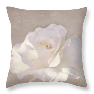 Throw Pillow featuring the photograph Kerstin by Elaine Teague