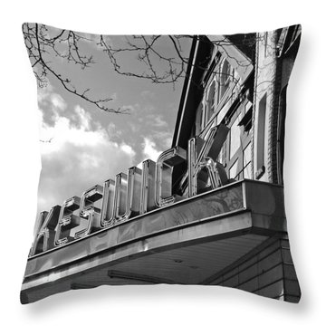 Keswick Theater Throw Pillow