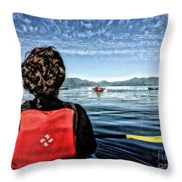 Ketchikan Throw Pillow