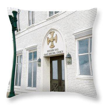 Ketchum Hall Throw Pillow