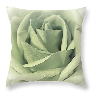 Key Lime Souffle Throw Pillow
