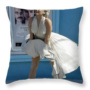 Key West Marilyn Throw Pillow