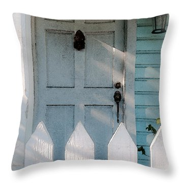 Key West Welcome To My Home Throw Pillow