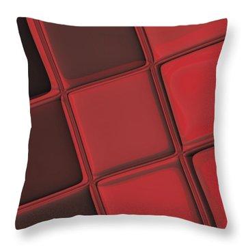 Keyboard Exposure Throw Pillow by Pharris Art