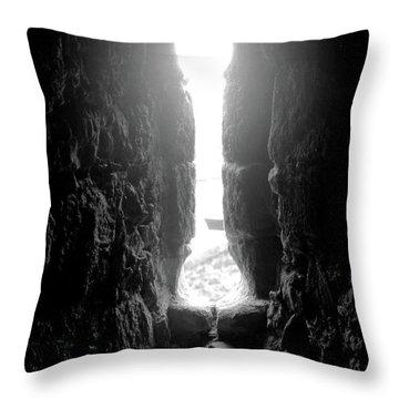 Keyhole Window Throw Pillow