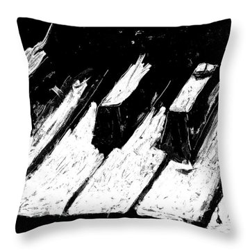 Keys Of Life Throw Pillow