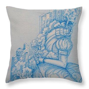Keys To The City Throw Pillow