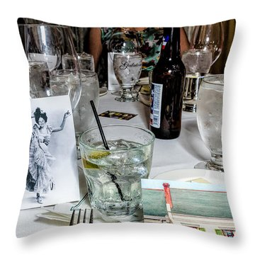 Kf 176 Throw Pillow by Kathleen K Parker