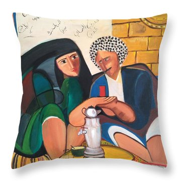Khadri El Chai Khadri  Throw Pillow by Rami Besancon
