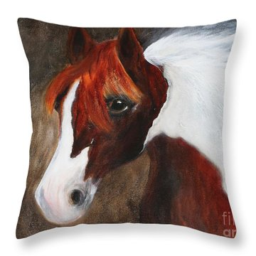Kidden Throw Pillow