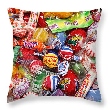 Kids Play 2 Throw Pillow