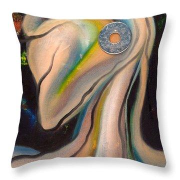 Kikeriki Throw Pillow by Sheridan Furrer