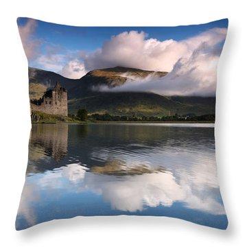 Scotland Landscape Throw Pillows