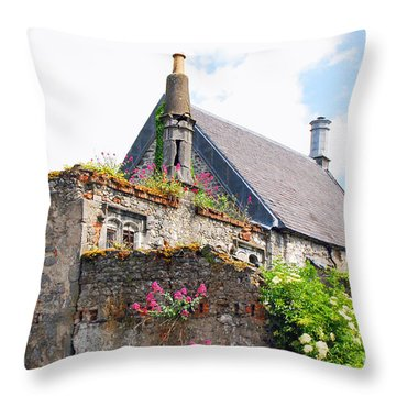 Kilkenny House Throw Pillow by Mary Carol Story