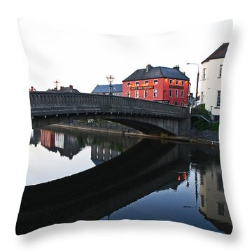 Kilkenny Throw Pillow by Mary Carol Story