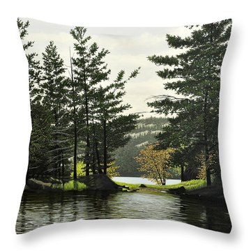 Killarney Throw Pillow