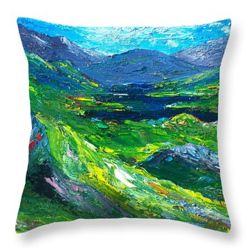 Killarney The Kingdom Of Kerry Throw Pillow