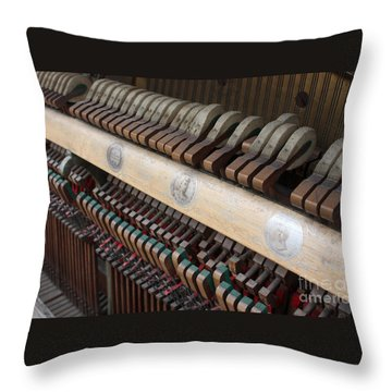 Kimball Piano-3471 Throw Pillow by Gary Gingrich Galleries