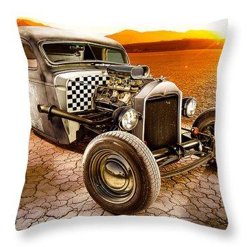 Millers Chop Shop 1946 Chevy Truck Throw Pillow