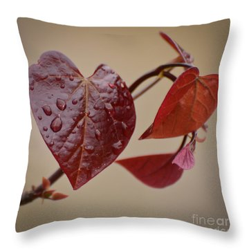 Kindness Can Change The World Throw Pillow by Kerri Farley