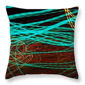 Kinetic Throw Pillow