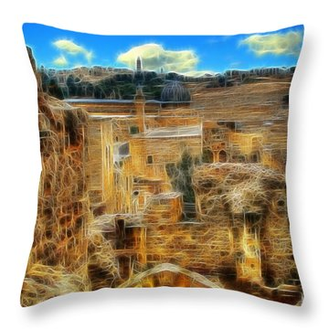 Peaceful Israel Throw Pillow